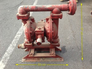 Diaphragm Pump 3 Available 23ins Long 27ins High - Pump
