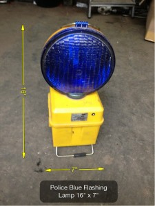 Police Light - Blue Lamp