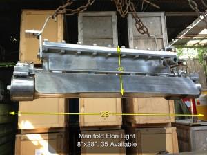 (13) Manifold Flori Light 8″ x 28″ 35 Available - 2ft Ali Light