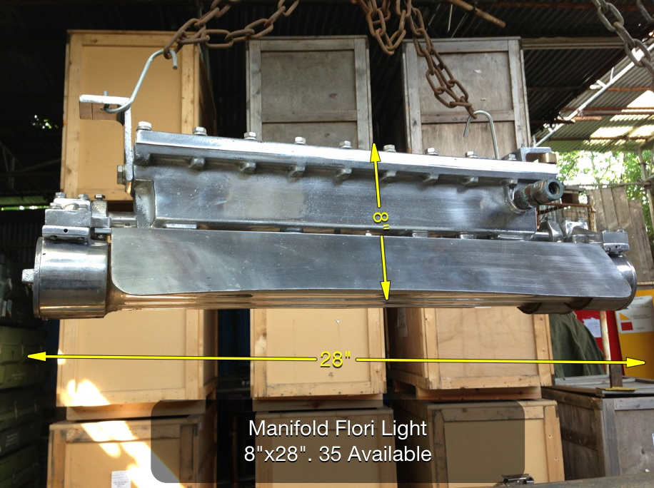 (13) Manifold Flori Light 8″ x 28″ 35 Available - 2ft Ali Light