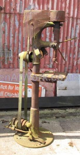 Belt Driven Drill - Victorian Belt Driven Drill