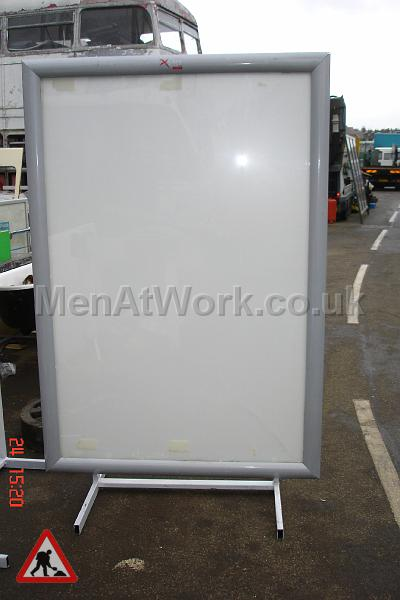 6 Sheet Advertising Panel Free Standing 1200 x 1800 - Illuminated Ad Panel