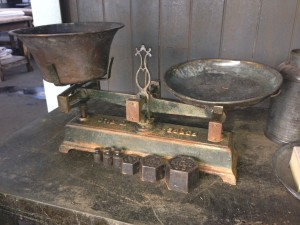 Victorian Weighing Scales -