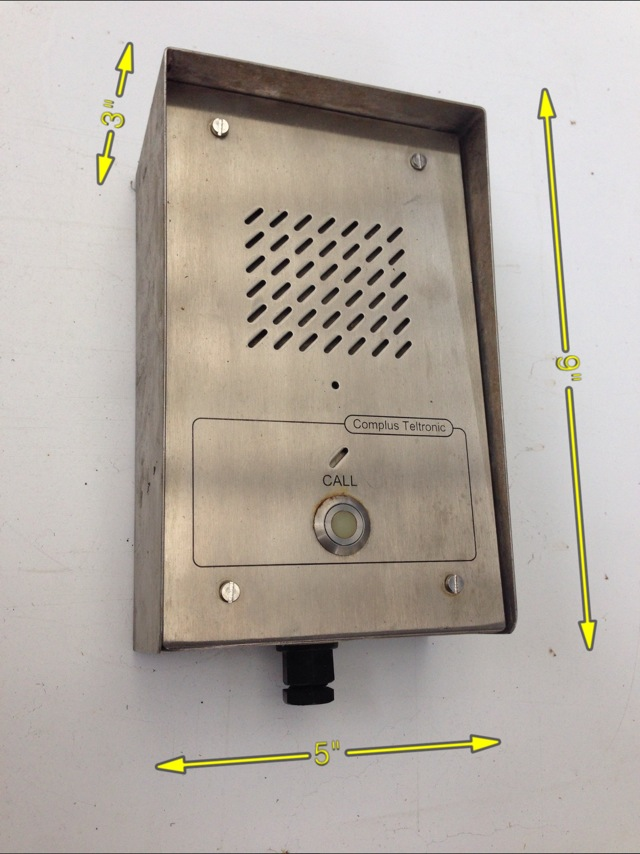 Intercom Entry Button -