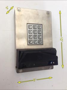 Card Swipe Entry -