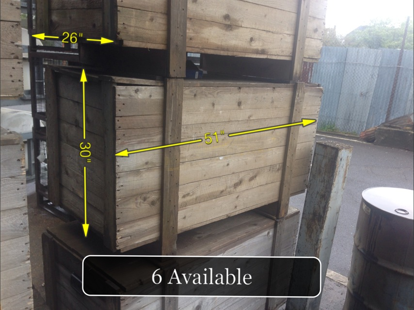 Wooden Crates -