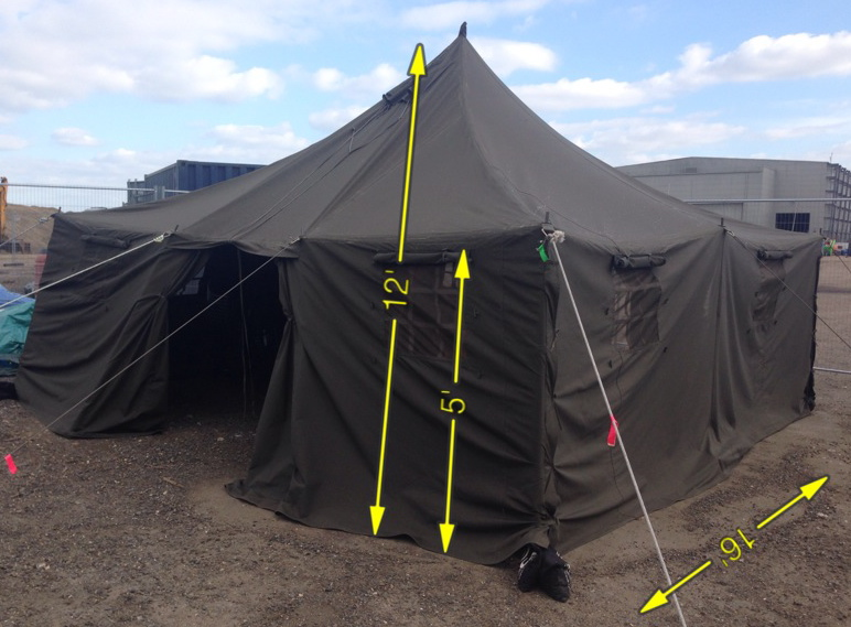 Tent 4 Available -