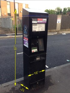 Pay and Display Parking Meter 4 Available -