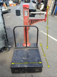 Platform Weighing Scales -