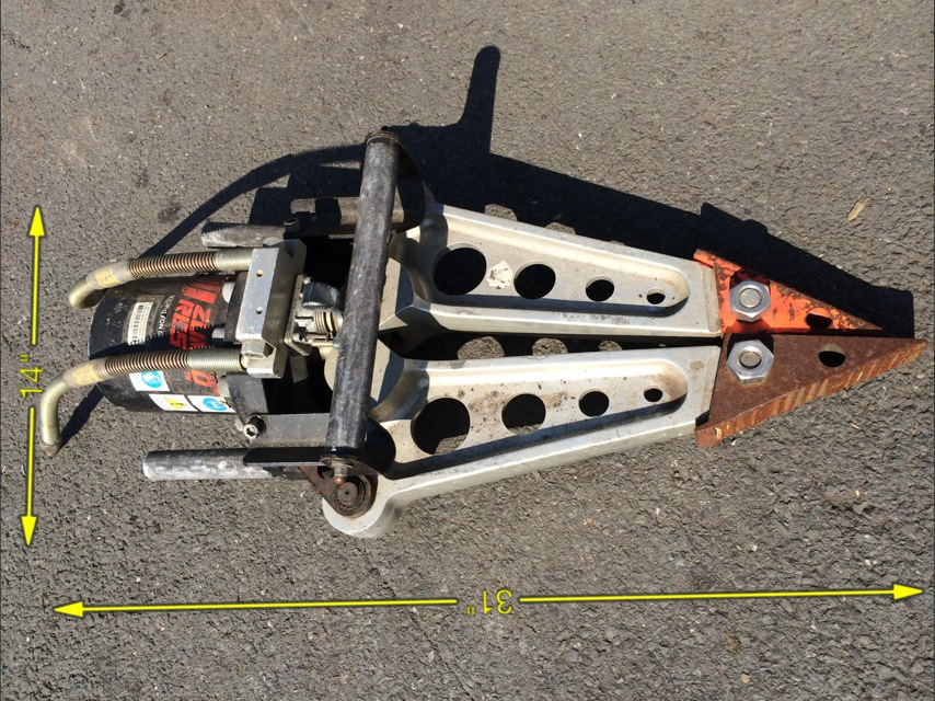 Jaws of Life 31″ x 14″ -