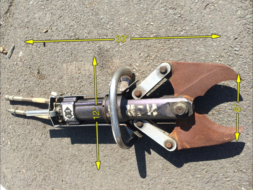 Jaws fo Life 30″ x 12″ -