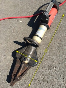 Jaws of Life 32″ x 9″ -