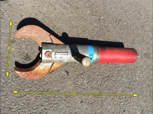 Jaws of Life 21″ x 8″ -