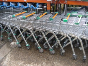 Supermarket Trolley -