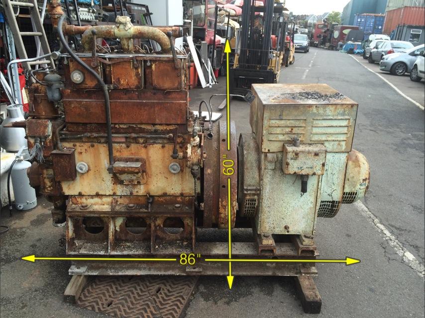 Russell Newbury Diesel Engine -