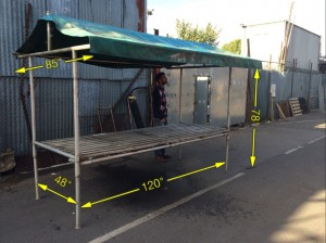 Market Stall Large 10 Available -