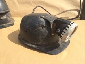Miners Helmet & Lamp -
