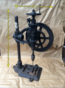 Hand Bench Drill -