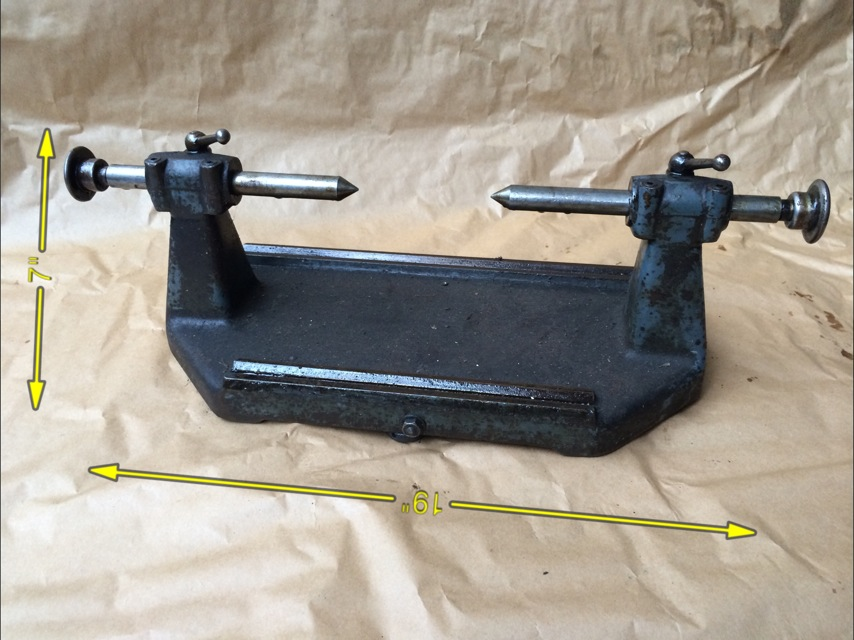 Centre Stand 19″ -