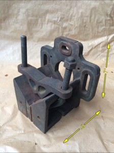 Engineers V Block and Clamp -