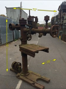 Drill Radial Belt Driven -