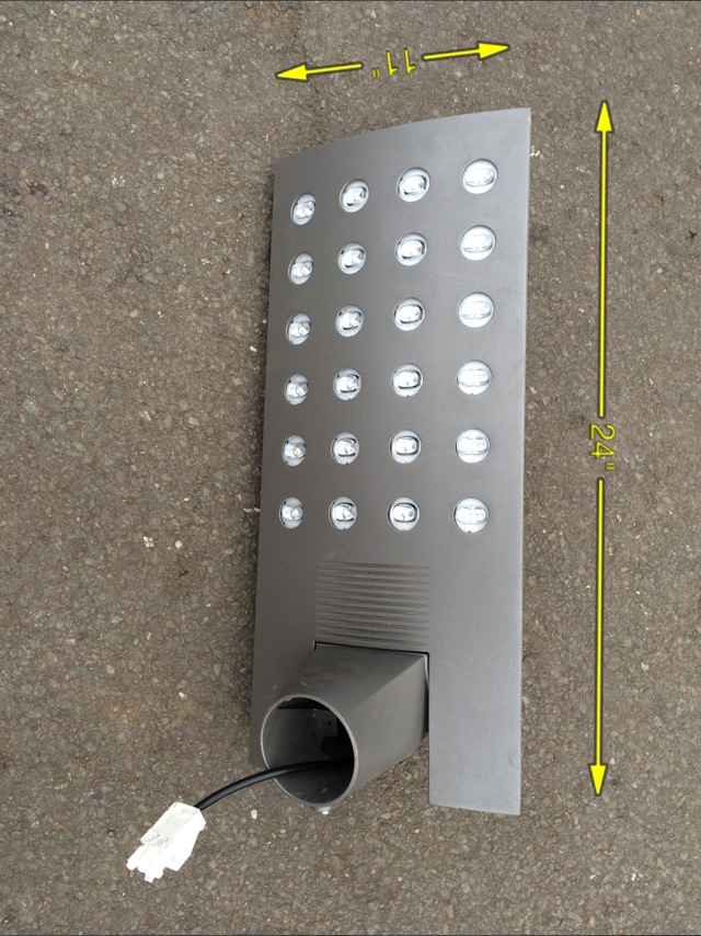 LED Street Light 12 Available 24″ x 11″ -