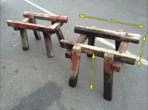 Timber Stools -