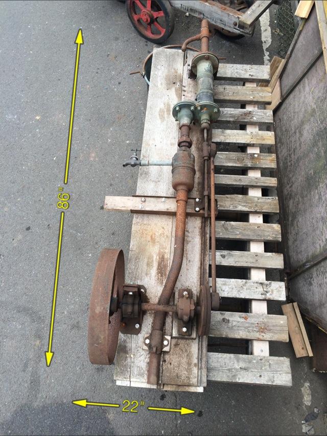 Water Pump 86″ x 27″ -