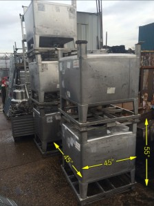 Stainless IBC Tanks 8 Available 45″ x 45″ x 55″ - IMG_8742