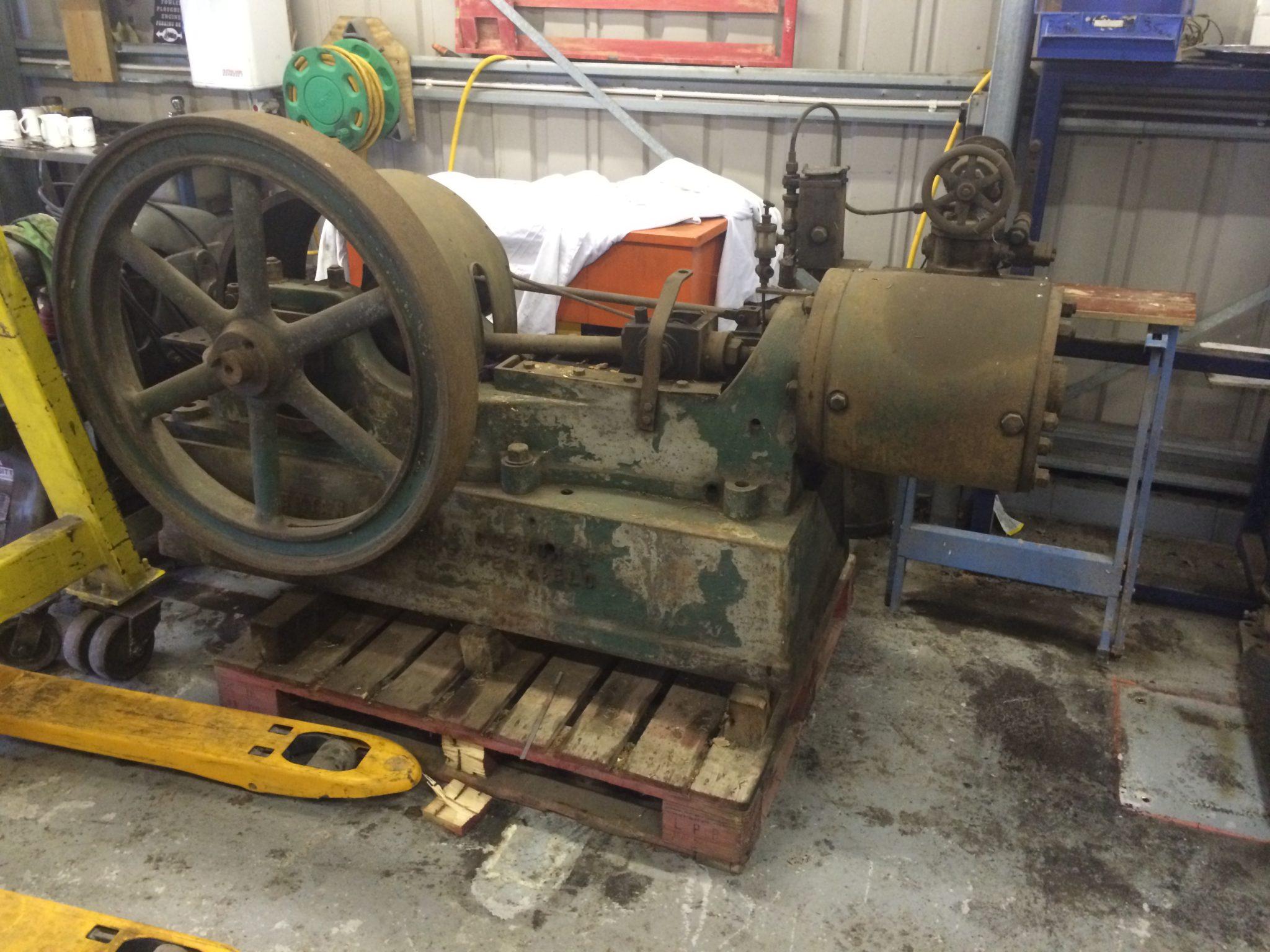 Steam Driven Pump 78″ x 40″ - IMG_7981