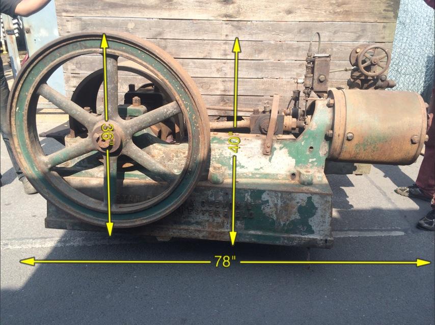 Steam Driven Pump 78″ x 40″ - IMG_9389