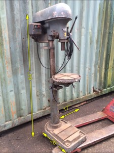 Piller Drill floor mounted -
