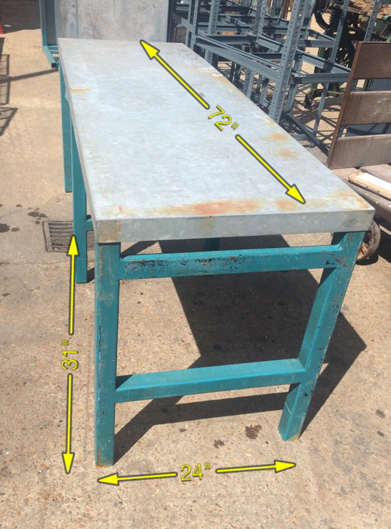 Workbench No 3   20 Available. Can be Painted -