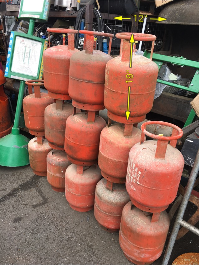 Callor Gas Canister bottle 15 Available -