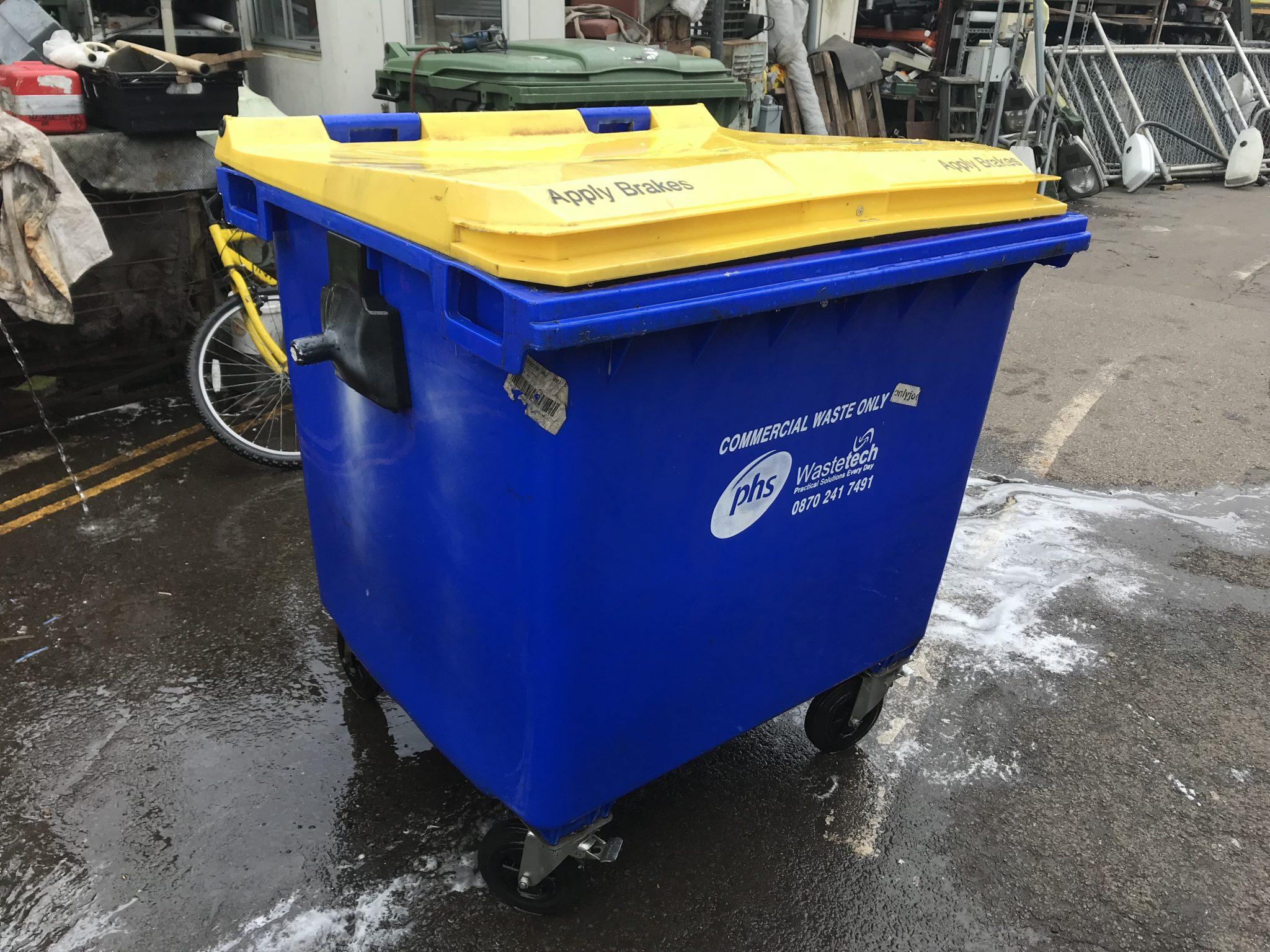 Blue Wheelie Bin - IMG_0249