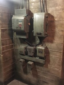 Men At Work Electrical Control Units Period